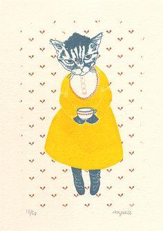 Springtime Tea Party by Melinda Josie