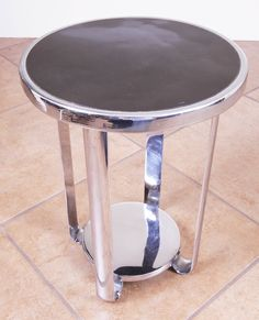 Fabulous Art Deco Machine Age McKay Craft Occasional Table