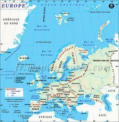 Carte D Europe Monde Deuxieme Plus Pe Continent Par Zone