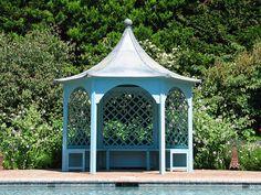 Holkham Gazebo by HSP Garden Buildings Garden Buildings, Pavilion, Gazebo, Cottage, Outdoor Structures, Kiosk, Cottages, Sheds, Cabana