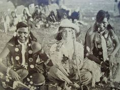 1909 Photo of Sioux Indians with Pale New Yorker eating Dog ~RPPC