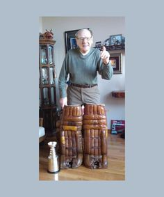 Johnny Bower gets his original Toronto Maple Leafs pads back! Awesome, I love Bower! Hockey Shot, Hockey Goalie, Hockey Teams, Sports Teams, Goalie Pads, Detroit Vs Everybody, Canada Hockey, Maple Leafs Hockey, Hockey Pictures