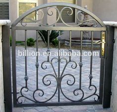 Image result for iron design courtyard