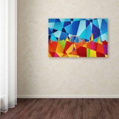 Trademark Fine Art London England Skyline Viii Canvas Art by Michael Tompsett, Size: 30 x 47, Multicolor