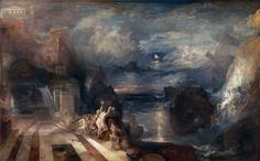 Joseph Mallord William Turner - The Parting of Hero and Leander [1837] | Flickr - Photo Sharing!