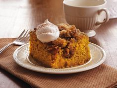 Love baking from scratch? This ginger-spiced poke cake is for you!