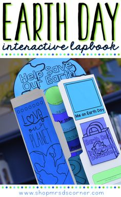 Earth Day should be celebrated more than one day a year. Use this educational lapbook to teach your students how to celebrate Earth Day all year long and how they can make a difference! Use the Earth Day foldables in any interactive notebook, over 20 different foldables included!