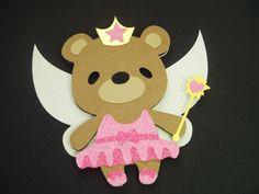Teddy Bear Sugar Plum Fairy Animal Cards Christmas Cards for Kids