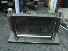 Home made press brakes - WeldingWeb™ - Welding forum for pros and enthusiasts Sheet Metal Bender, Press Brake, Welding, Restoration, Old Things, Homemade, Tools, Free, Soldering
