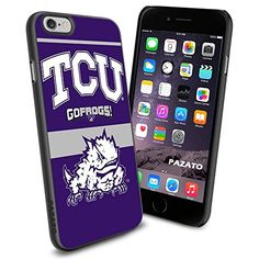 """TCU Horned Frogs iPhone 6 4.7"""" Case Cover Protector for iPhone 6 TPU Rubber Case SHUMMA http://www.amazon.com/dp/B00T46WOGE/ref=cm_sw_r_pi_dp_181mvb195F2B9"""
