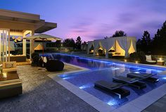 Roof lap #pool at the spectacular five star Club PA Park Avenue #amenity space exclusive to residents who live here.