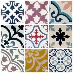Floral #casa #home #azulejos #tiles #floor #walls #Spanish #Spain #floral