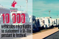 100 000 RVs are parked in St-Tite during the western festival each year / Festival Western de St-Tite / #mauricie #canada #quebec #rodeo #festival #western #cowboy #country #st-tite #RV #VR #camping #caravanning