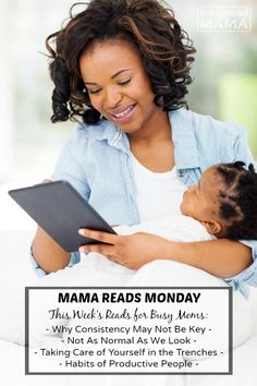 Mama Reads Monday - This Week's Encouragement and Parenting Reads for Busy Moms - In the Trenches, Productivity, and More