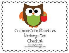 kindergarten common core standards printable   The Kissing Hand Read the Room - Robin Richie - TeachersPayTeachers ...