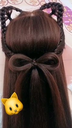 Boy Hairstyles, Headband Hairstyles, Makeup Emoji, Hairstyles For Medium Length Hair Easy, Hair Color Underneath, Hairstyle Hacks, Girl Hair Dos, Kpop Hair, Great Hair