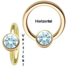 14K Gold - Bezel Set Ring