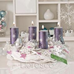 Adventní věnce na vánoční stůl 2012 | Floresco