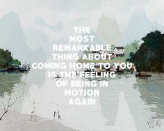 Li River 3 (2014), Pang Jiun / Going to Georgia, The Mountain Goats