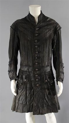 saved - BLACK SAILS CAPTAIN FLINT TOBY STEPHENS SCREEN WORN PIRATE COAT SS 2 & 3 (1 of 2)