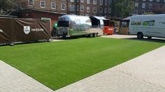 #arttragrass installs artificial grass at the #thekiaoval #theoval #cricket grounds in #london