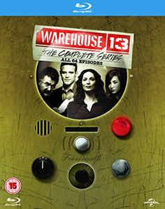 $44.95 - Warehouse 13 The Complete Series Blu-ray UK Import Region Free