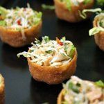 Asian Crab Salad Croustades, The Passionate Cook
