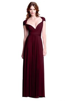 Sakura Burgundy Wine Maxi Convertible Dress $168 + $12 shipping  https://www.henkaa.com/sakura-burgundy-wine-maxi-convertible-dress