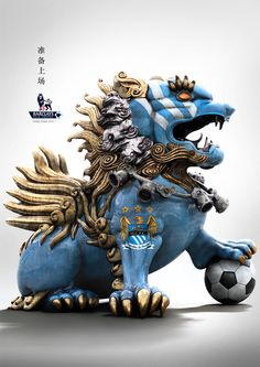 Manchester City: Barclays Asia Trophy Hong Kong 2013 by Sonny Tjahjadi, via Behance