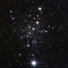 Hubble Space Telescope image of a globular cluster of stars known as Palomar 12. Palomar 12 was actually ripped from its initial home, the Sagittarius Dwarf Elliptical galaxy, around 1.7 billion years ago via tidal interactions between its former home and our galaxy. - Image Credit: ESA/Hubble and NASA - Image enhancement: Jean-Baptiste Faure