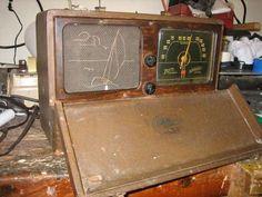Vintage AM radio rebuild