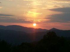 Sunset, Blue Ridge Mointains