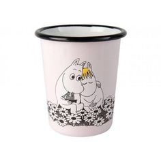 Together forever enamel cup 4 dl – The Official Moomin Shop