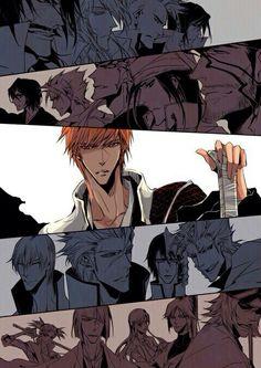 the final Arc ©Nata Bleach Ichigo Bankai, Ichigo Manga, Manga Bleach, Bleach Fanart, Manga Anime, Anime Art, Kawaii Chibi, Kawaii Anime, Bleach Pictures