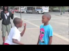 young boys Dance Battle hiphop street In Harlem NYC - YouTube