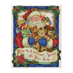 Whitelotous Santa Clanus & Bears 5D Diamond Painting Embroidery DIY Paint-By-Number Kit Home Wall Decor 12 x 16 Inch -- Awesome products selected by Anna Churchill