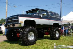 Chevy K5 Blazer by geepstir, via Flickr