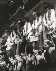 Catacombs of the Capuchin Monastery, Sicily, 1939.