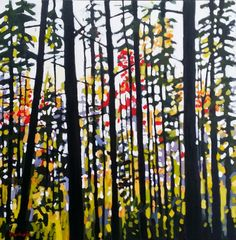 PaintedPaper by Holly: Forest Reds