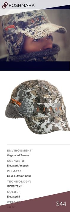 Sitka Gear Hunting Cap Hat Elevated Optifade Camo 90101-EV-OSFA