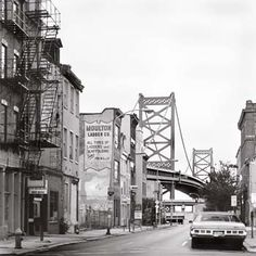 Race Street, Philly - a retro view of my old street