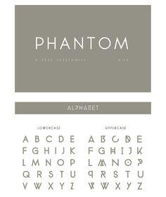 PHANTOM Free Font - Free Fonts - Fribly