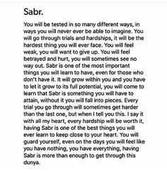 Success is achieved by sabar and salah Best Islamic Quotes, Quran Quotes Inspirational, Quran Quotes Love, Beautiful Islamic Quotes, Words Quotes, Life Quotes, Qoutes, Islamic Quotes Patience, Islam Quotes About Life
