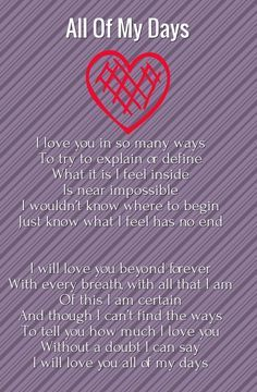 poem about unconditional love for emma that is how feel about you everyday in life