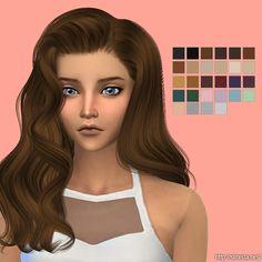 Simista: Alesso`s - Omen hairstyle retextured  - Sims 4 Hairs - http://sims4hairs.com/simista-alessos-omen-hairstyle-retextured/
