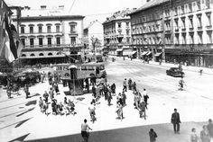 The city of Ljubljana, capital of Slovenia (early 1960s)