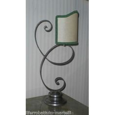Wrought Iron Abat Jour Lamp. Customize Realizations. 715 Italian Style, Wrought Iron, Candle Sconces, Wall Lights, Candles, Lighting, Home Decor, Appliques, Decoration Home