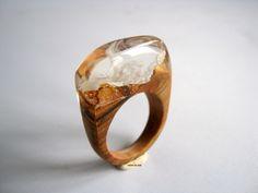 Atelier de Jade Resin Jewelry, Handmade Jewelry, Wood Resin, Wood Rings, Gemstone Rings, Jewels, Gemstones, Mp3 Player, Epoxy