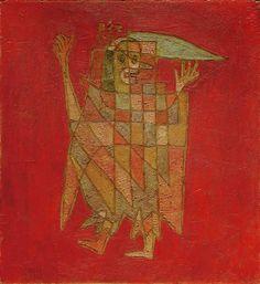 Afbeelding Paul Klee - Allegorische Figurine (Verblassung),