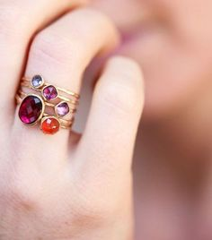 Delicate gold ring, orange carnelian, rose cut, thin stacking ring, o… Jewelry Box, Jewelry Accessories, Fashion Accessories, Jewelry Design, Fashion Jewelry, Jewelry Making, Cheap Jewelry, Bridal Accessories, Custom Jewelry